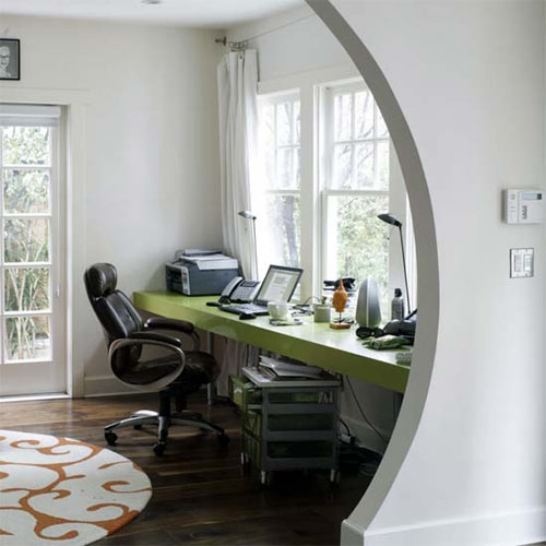 Home office design ideas for homes with limited spaces for Home office design ltd