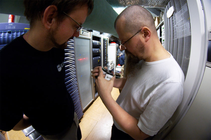 Maintaining own servers