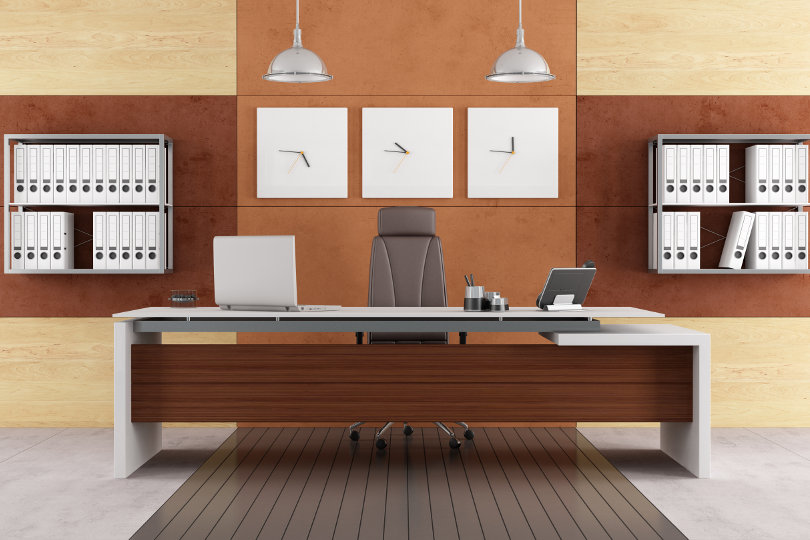 Gallery for affordable modern executive desk for Affordable modern office furniture