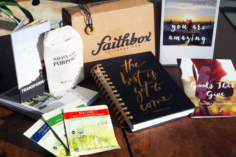 Faithbox subscription product