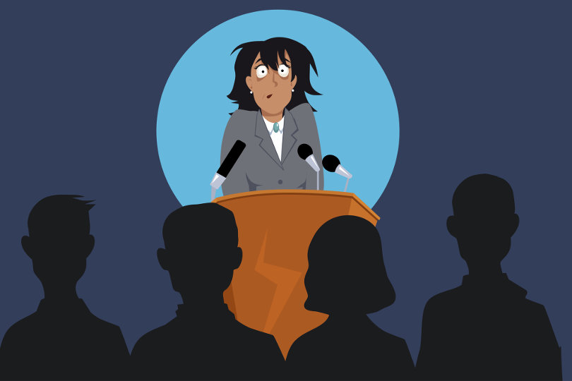 glossophobia fear public speaking Speaking in public can be an unbelievably nerve-wracking experience – and  glossophobia, the fear of speaking in public, routinely features.