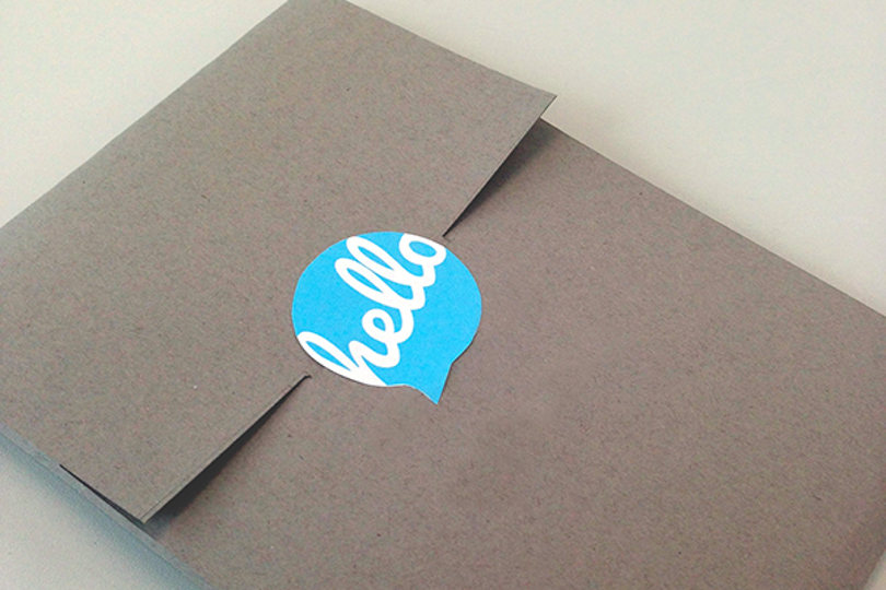 Personalised envelope