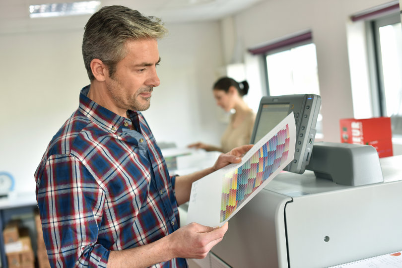 Online newspaper printing business