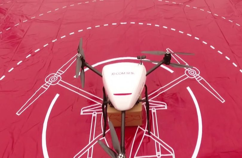 JD.com drone is the forefront in the logistics tech adoption