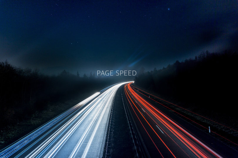 Web page speed