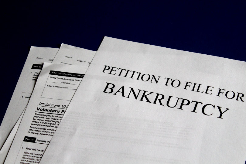 Bankruptcy filing documents