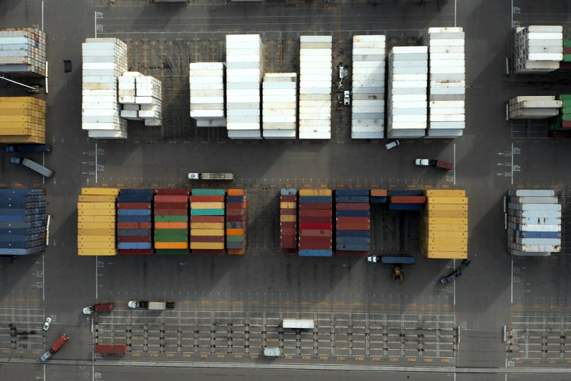 Container yard