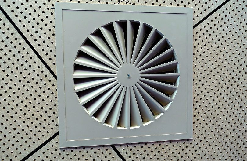 Exhaust fan ventilation system